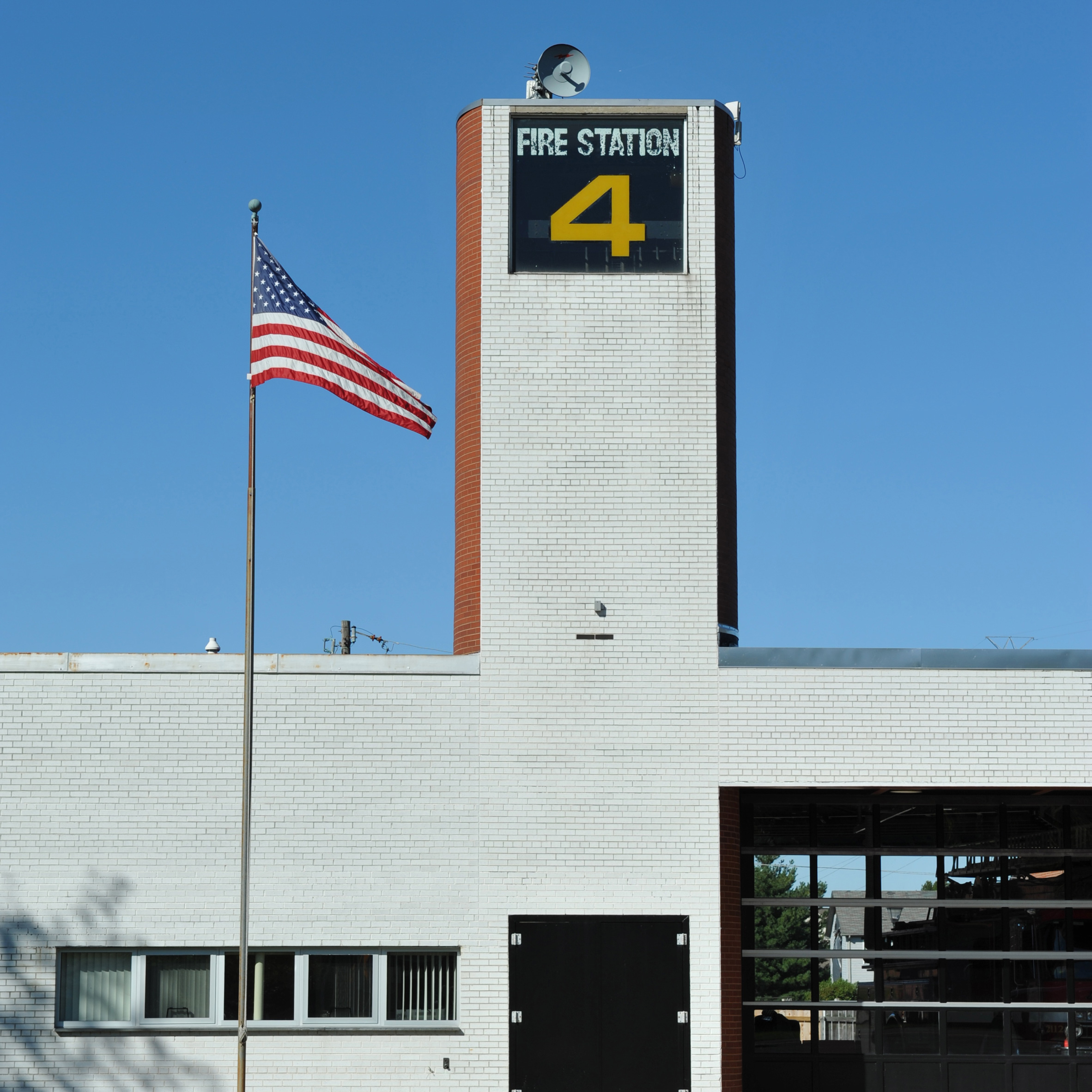 Fire Station Number Four by Robert Venturi, 1966