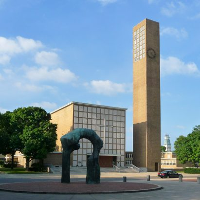 First Christian Church by Eliel Saarinen