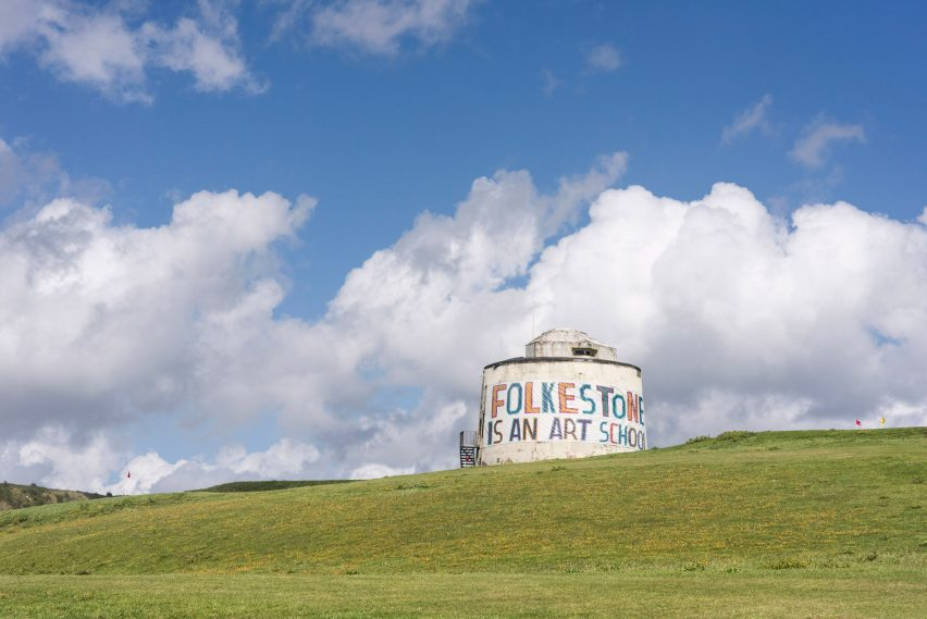 Folkestone is an art school by Bob and Roberta Smith