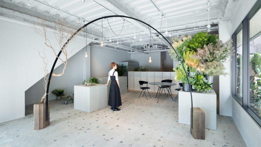 Gigi Verde flower shop by Sides Core
