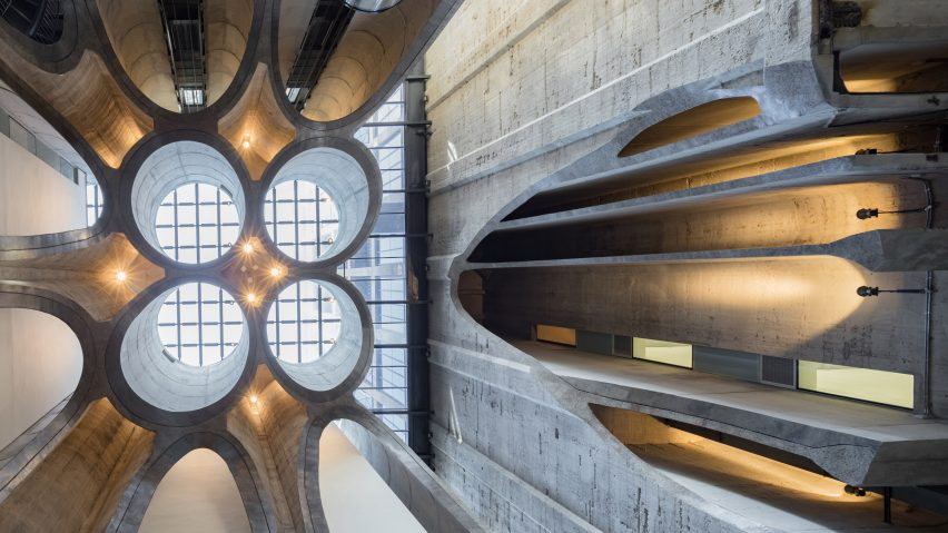 heatherwick reveals zeitz mocaa art galleries in cape town grain silo