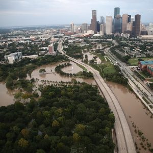 Houston flooded after Hurricane Harvey