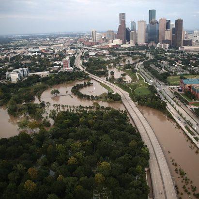 Houston flooded after Hurricane Harvey