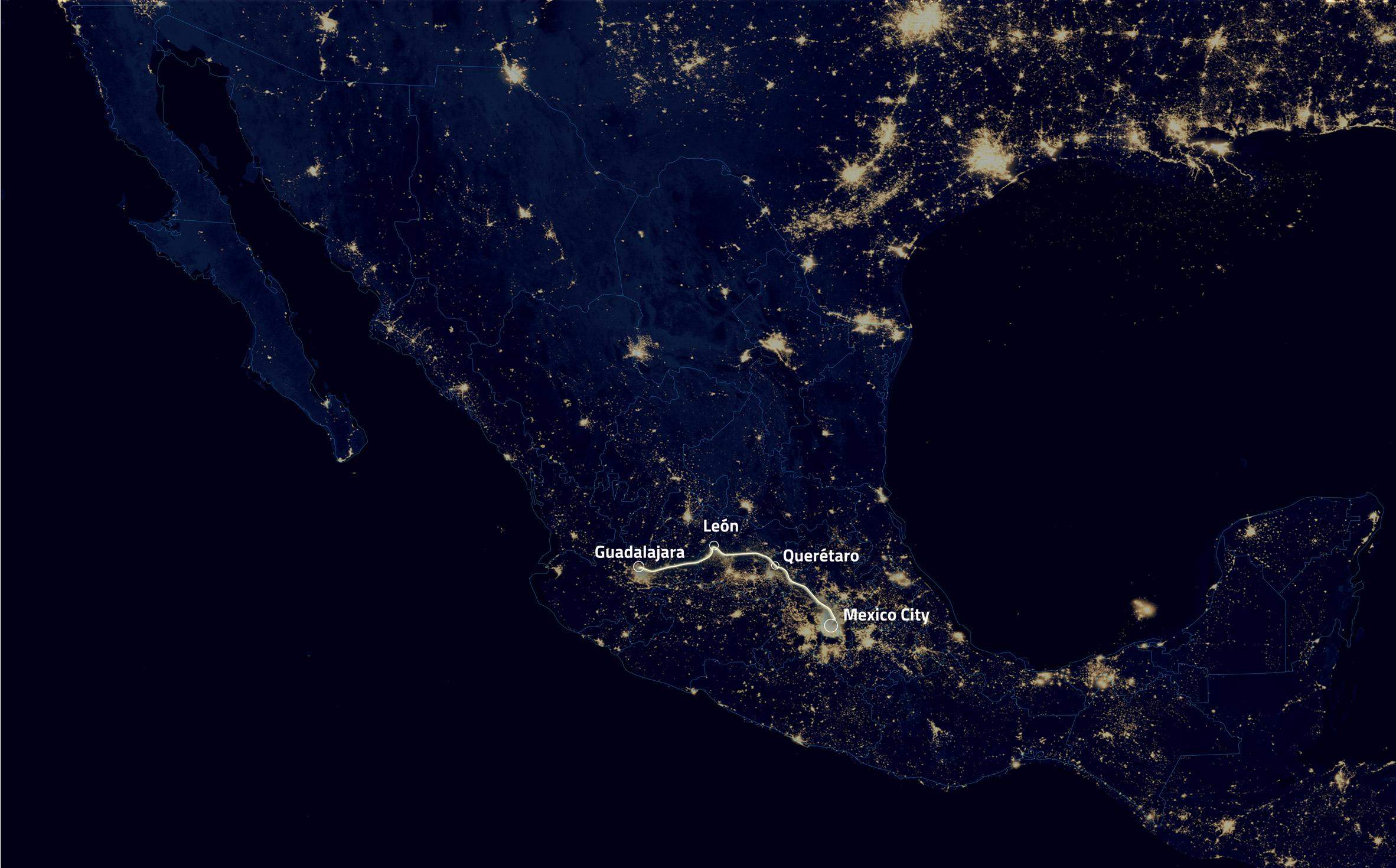 "FR-EE plans Hyperloop corridor to create Mexican ""megalopolis"""
