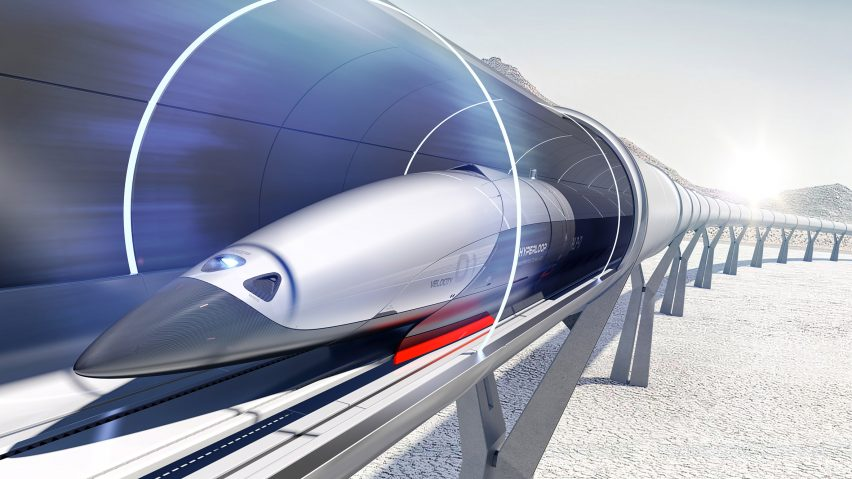 priestmangoode unveils hyperloop passenger pods that are more spaceship than train