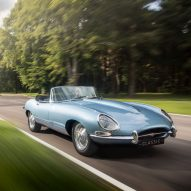 Jaguar electrifies its classic E-type car