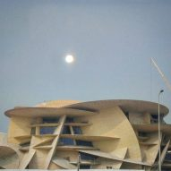 Instagrammers capture Jean Nouvel's National Museum of Qatar as it nears completion