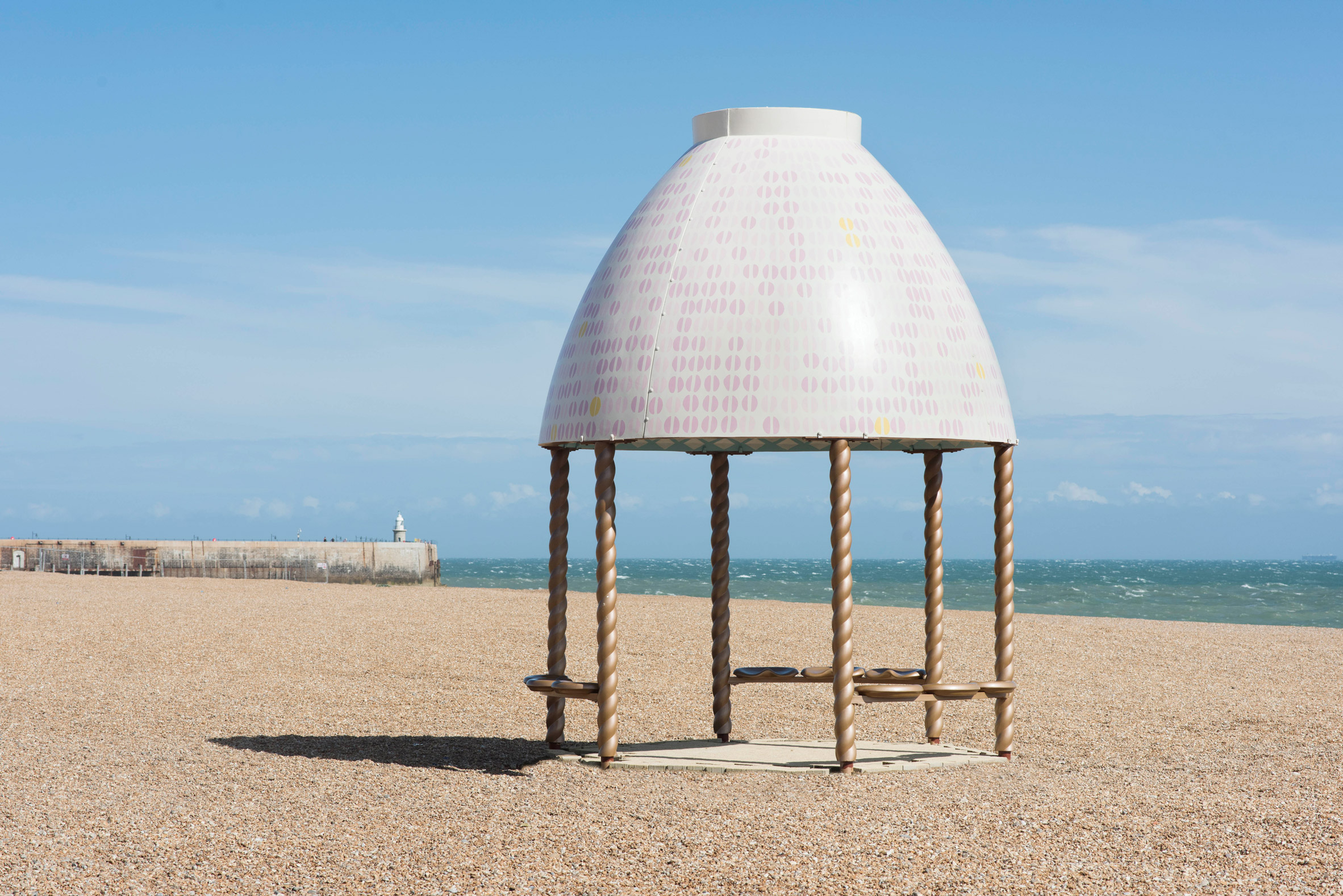 Jelly Mould Pavilion by Lubaina Himid