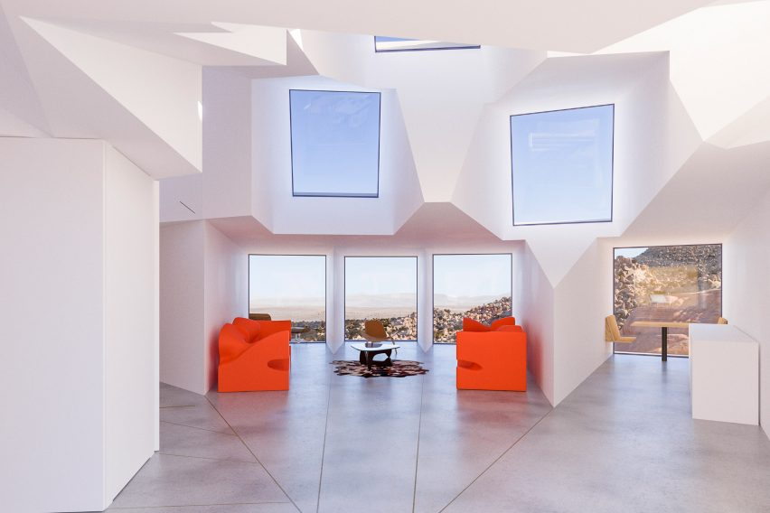 Joshua Tree Residence by Whitaker Studio
