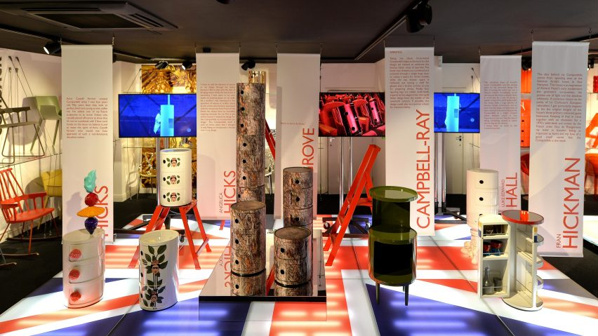 Kartell's Componibilli storage unit at London Design Festival 2017