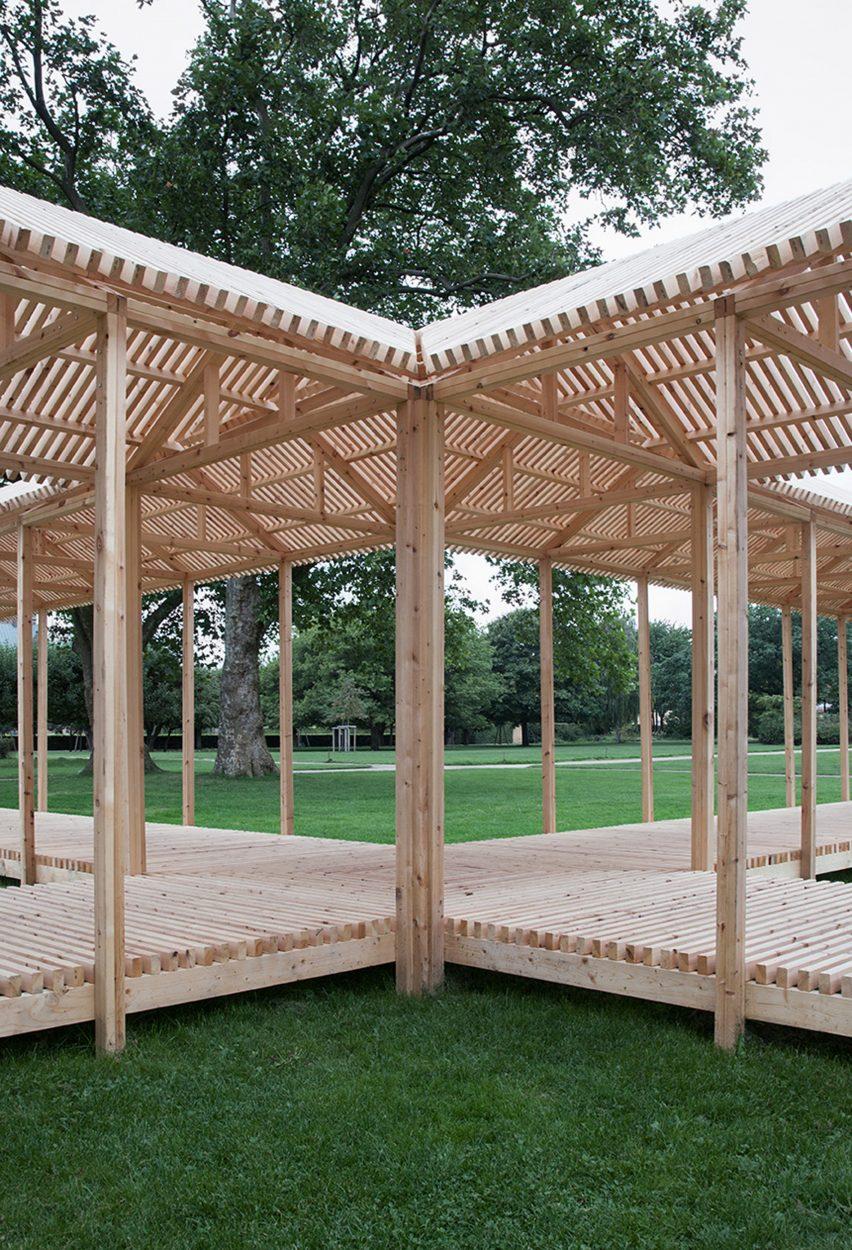 King's Garden Pavilion by Krupinski/Krupinska Arkitekter