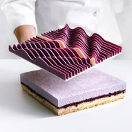 Dinara Kasko's sculptural cakes are carved from sheets of chocolate