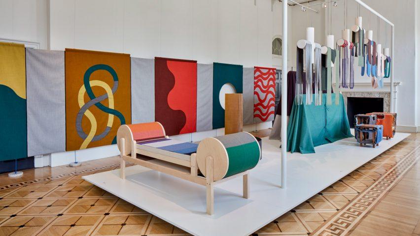 19 designers reinterpret one of kvadrat s most popular fabrics