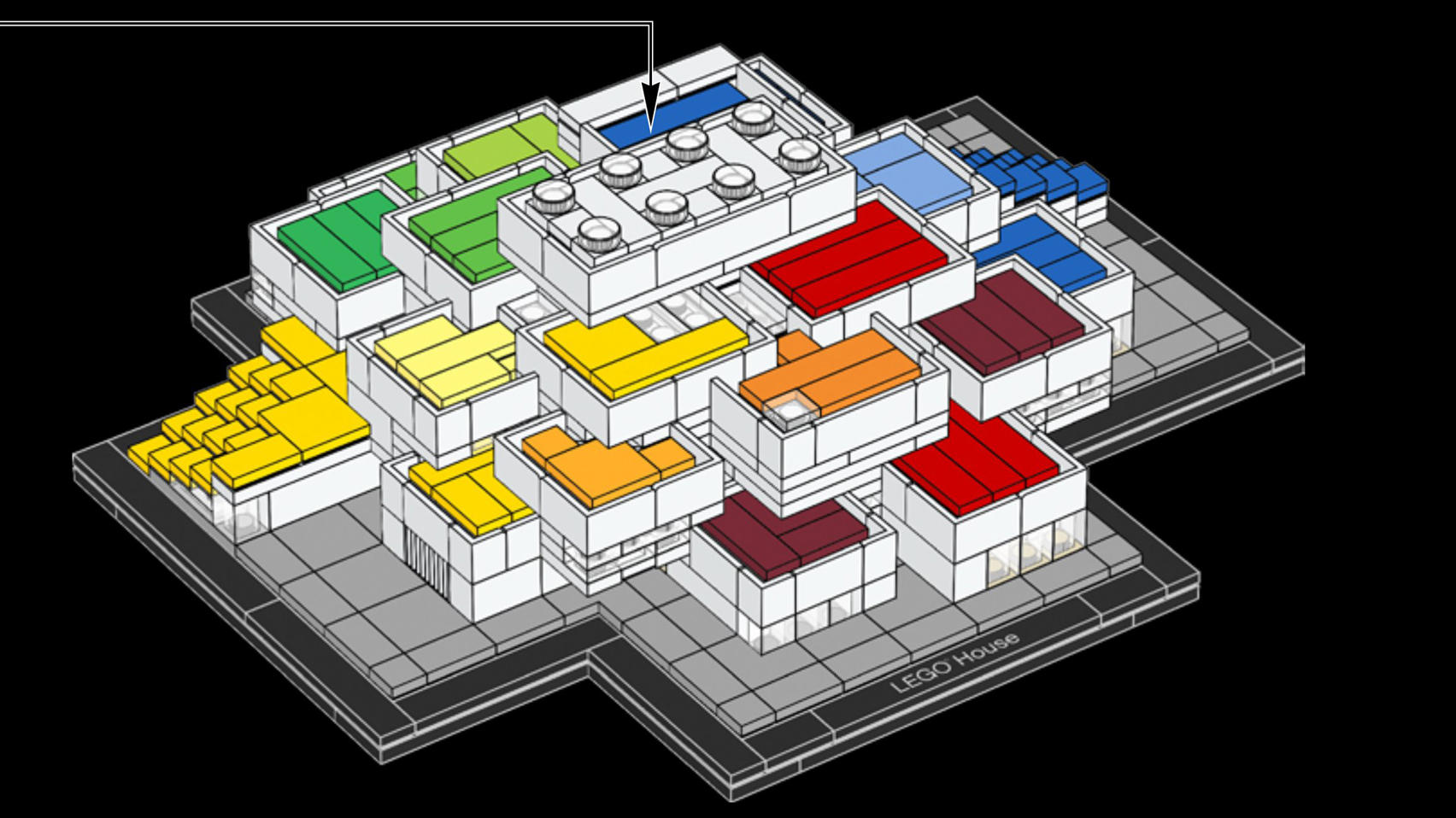 Lego House Plans This Week Lego Released A Model Kit Of Its Big Designed Visitor