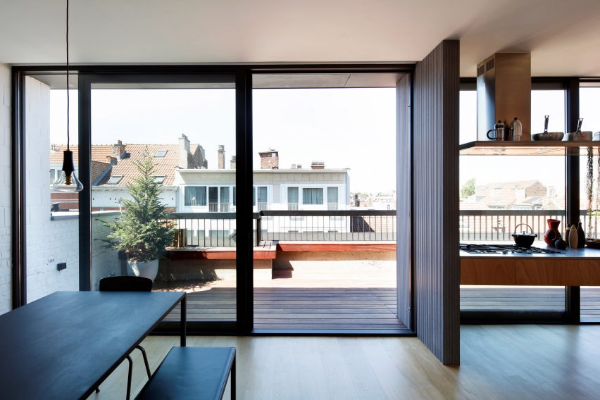 Lincoln apartment by Notan Office in Brussels