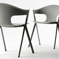 Benjamin Hubert's Axyl chair at London Design Festival 2017