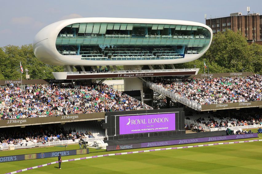 Lord's media centre refurbishment by David Miller Architects