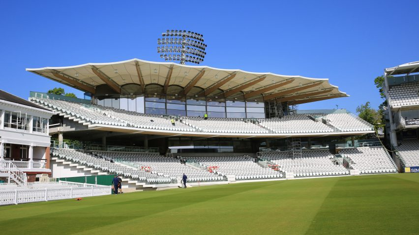 Lord's Warner Stand refurbishment by Populous