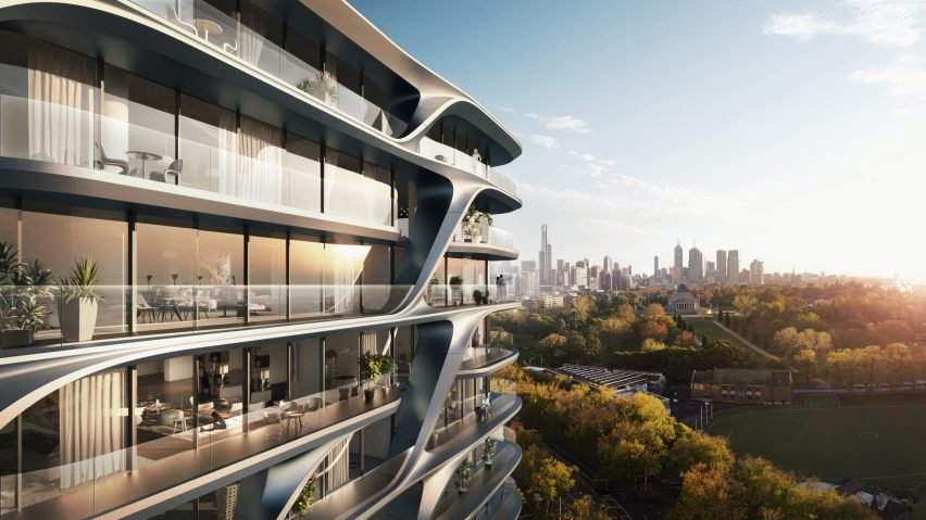 Zaha Hadid Architects reveals plans for second Melbourne tower