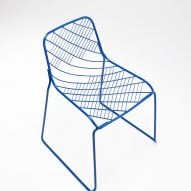 People's Industrial Design Office create wire Mesh Chair
