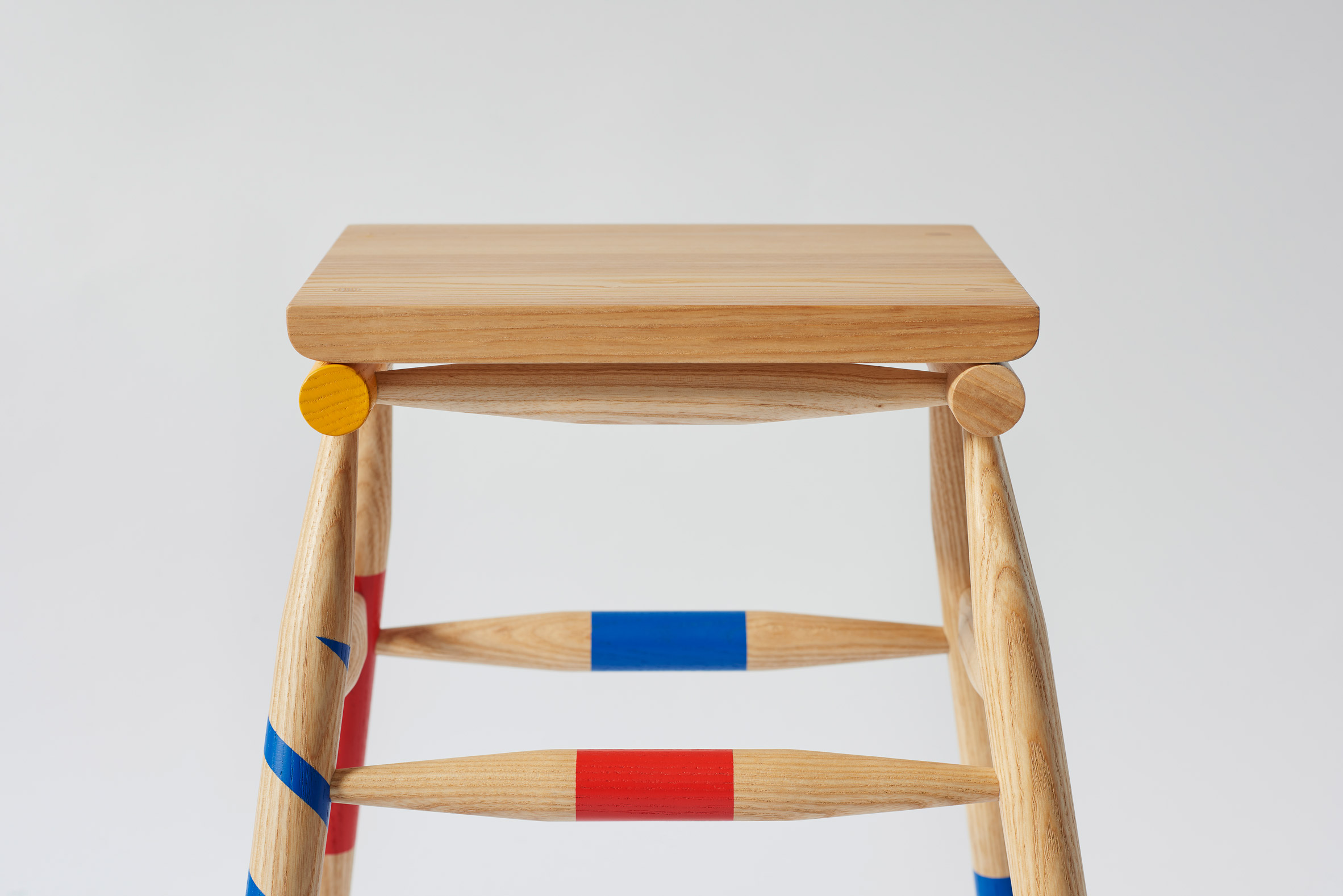 Rio Kobayashi bases colourful furniture on traditional game Mikado