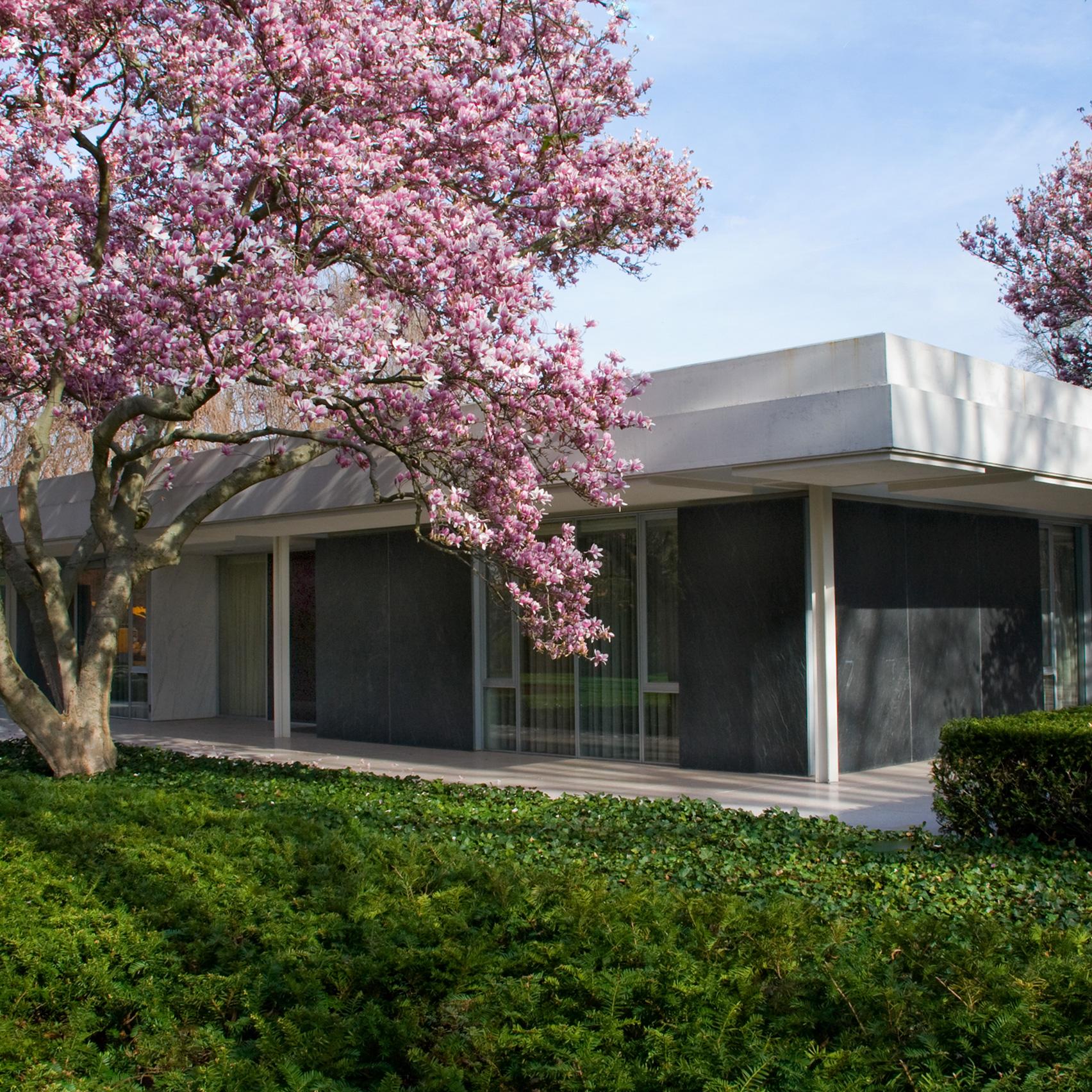 Miller House and Garden by Eero Saarinen, 1957