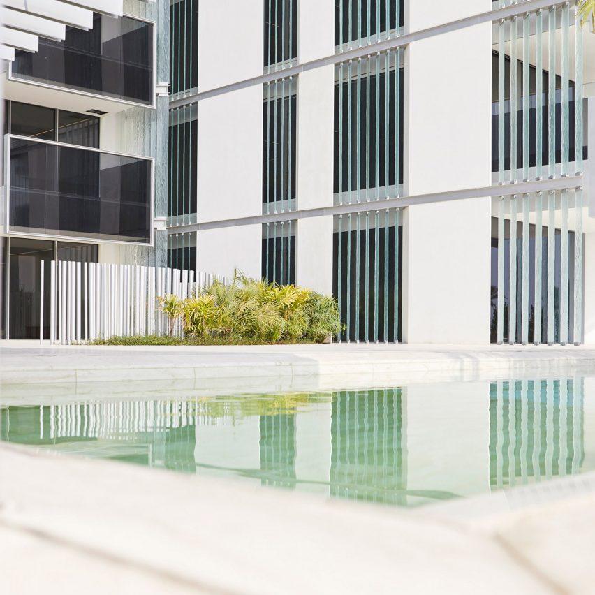 Muraba residences by RCR Architects in Dubai.