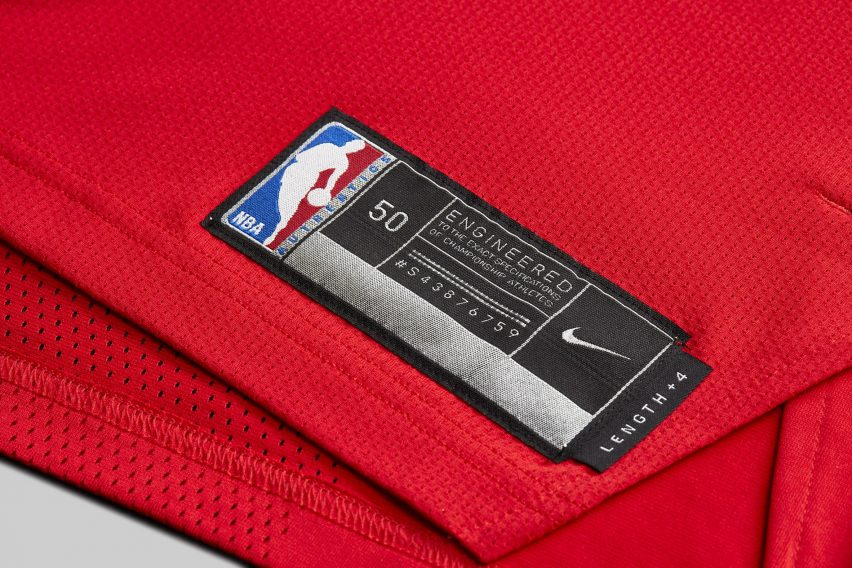 eaee30f21 Nike s connected NBA jerseys update fans with news about their teams