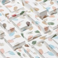 Nendo creates minimal, painterly branding for cosmetics brand Naturaglacé