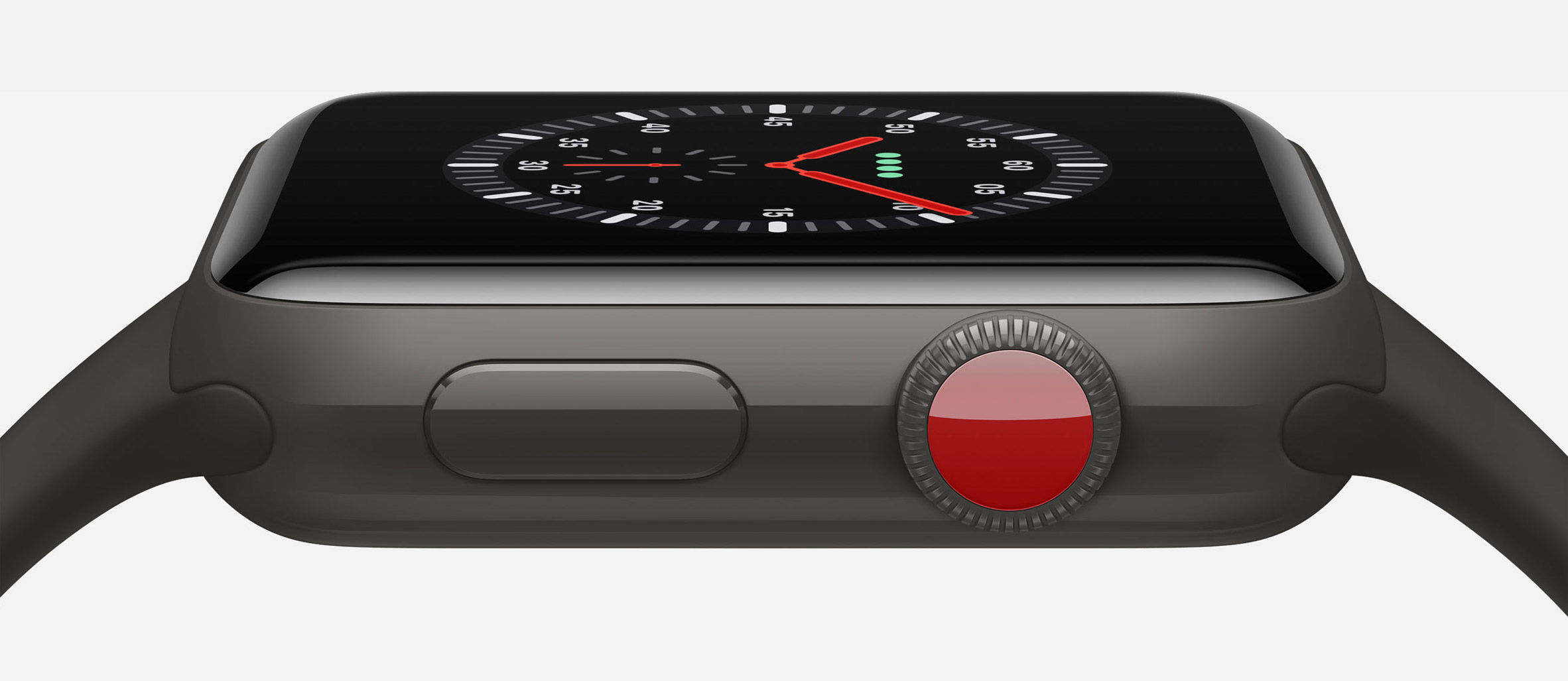 Apple Watch Series 3 includes built-in cellular service for receiving calls remotely