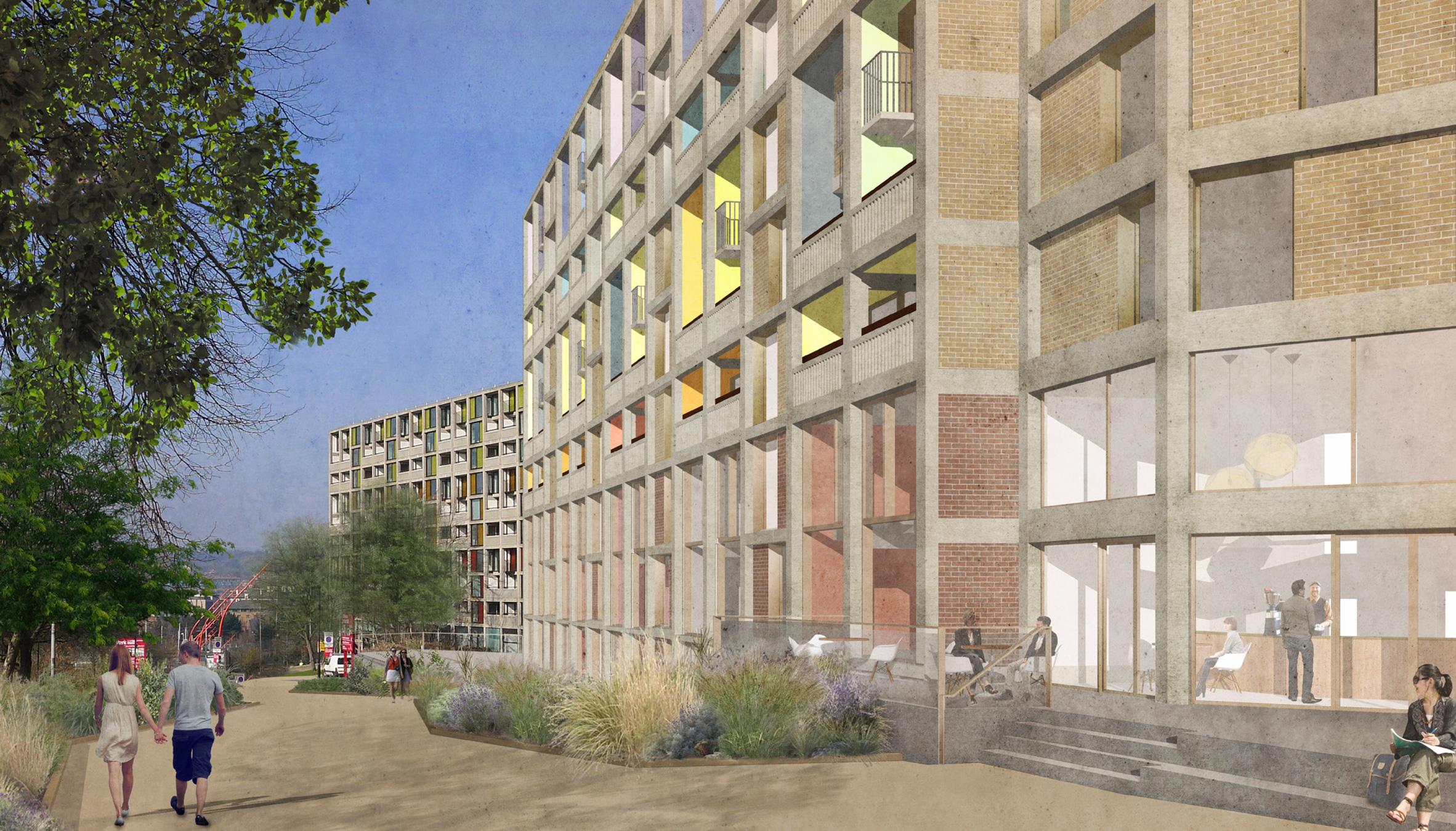 Mikhail Riches unveils plans for phase two of Park Hill estate regeneration