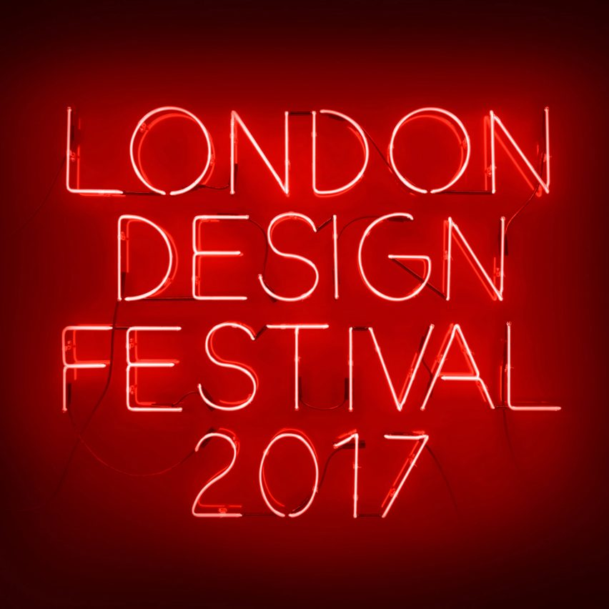 Pentagram partner Dominic Lippa has created the visual identity and promotional materials for this year's London Design Festival.