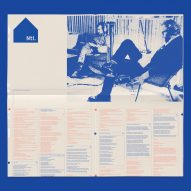 The National's Sleep Well Beast design by Pentagram's Luke Hayman