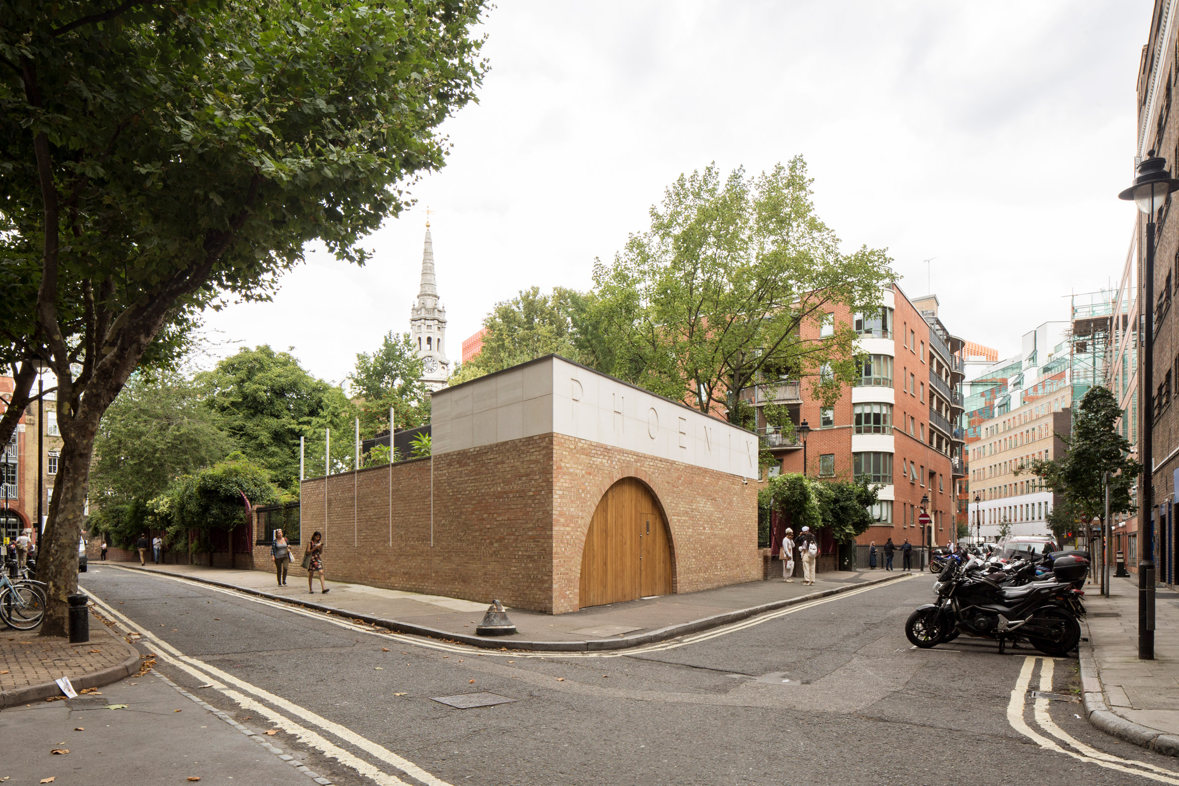 Office Sian Adds Brick And Limestone Building To London