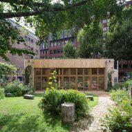 Phoenix Garden Community Building by Office Sian