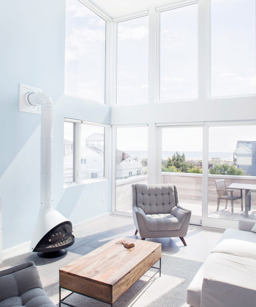 10 Of The Best Double Height Rooms That Bring In Ample Space And Light Electrical Wiring Lights Ceiling On Pinterest Dezeen Roundups Interiors