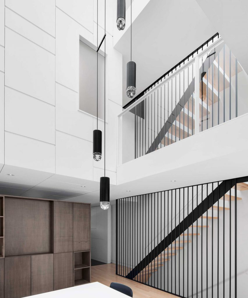 Dezeen Pinterest roundups: Double height interiors