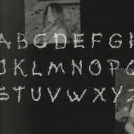 Swedish punk band Pissjar designs typeface made from their own urine