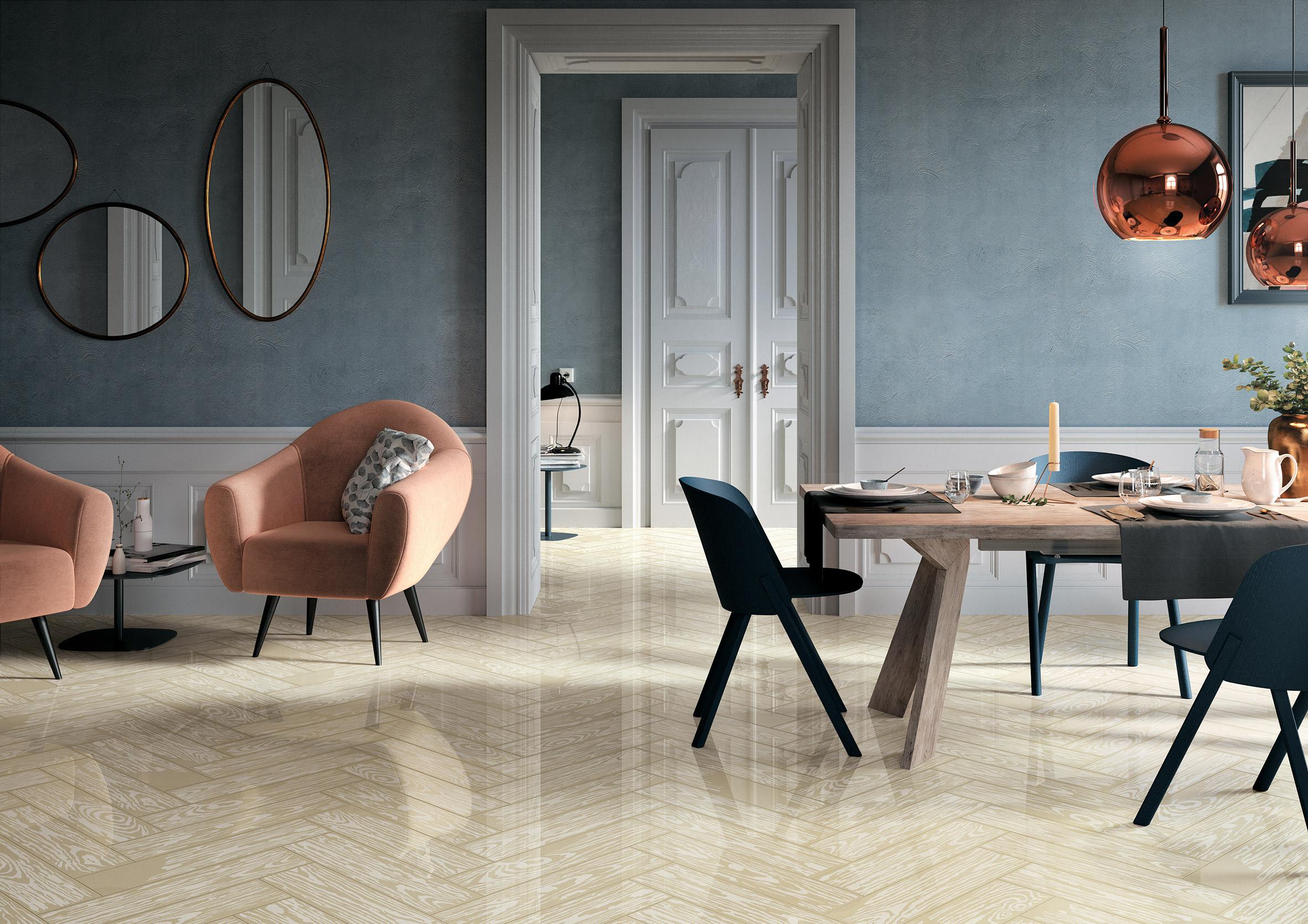 Pop art informs floor tile collaboration between Mirage and Studio Job