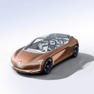 Renault showcases its new concept car Symbioz at 2017 Frankfurt Motor Show