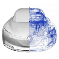 Renault showcases its new concept car Symbioz at 2017 Frankfurt Motor Show