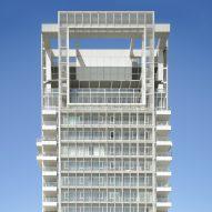Richard Meier completes Bauhaus-inspired tower in Tel Aviv
