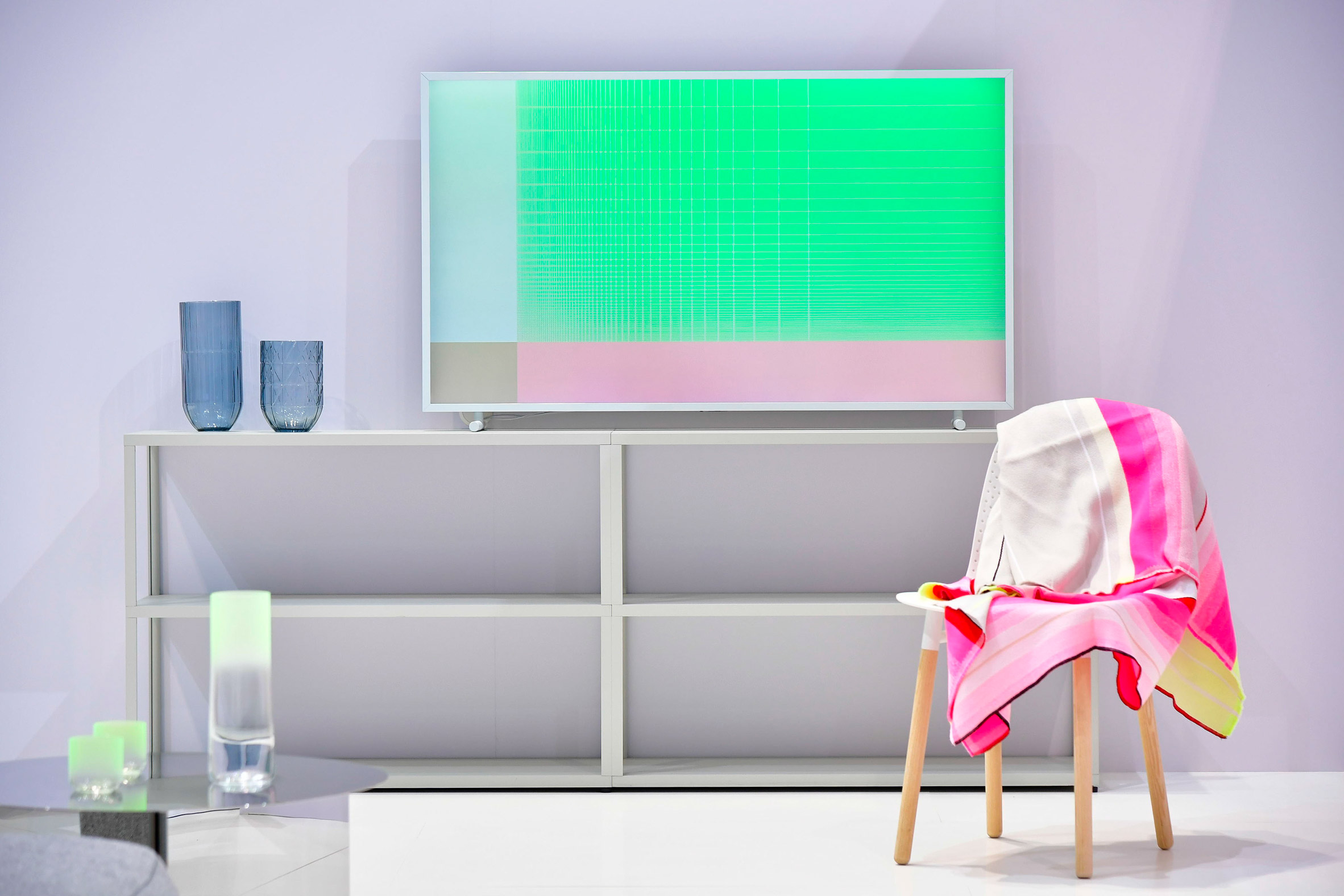 Samsung offers all-over Frame TV styling by Scholten & Baijings and Inga Sempé