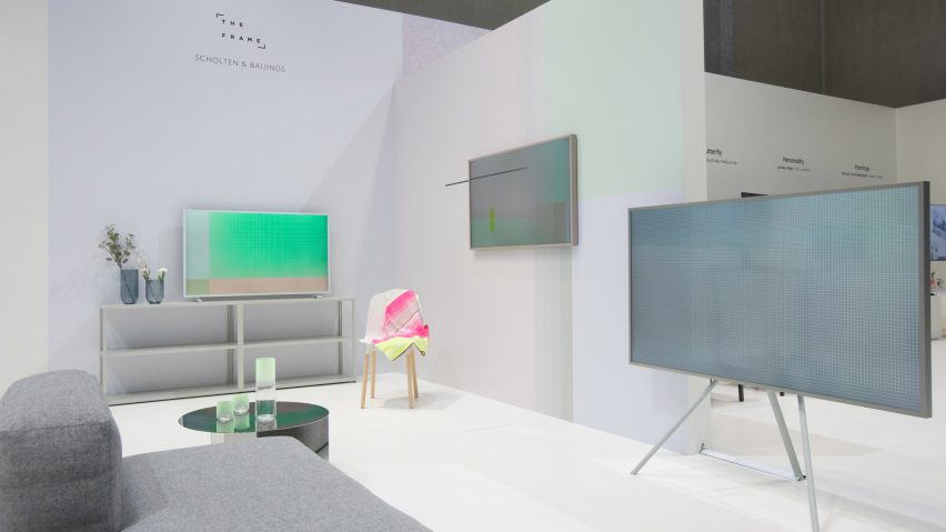 Samsung Offers All Over Frame Tv Styling By Scholten Baijings