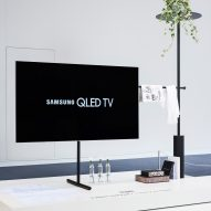Scandinavian-inspired TV stand design wins Dezeen and Samsung's competition