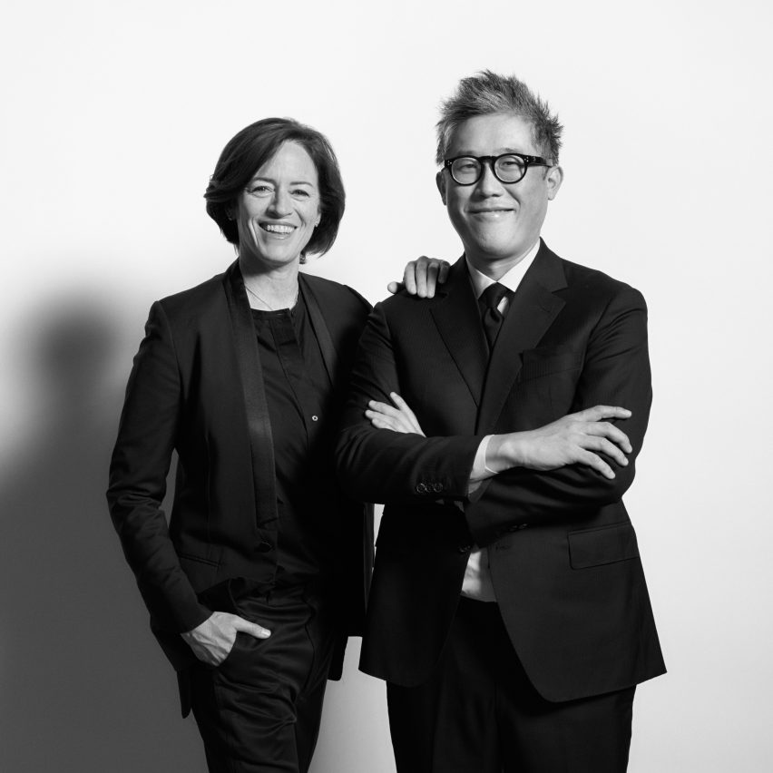 Sharon Johnston and Mark Lee