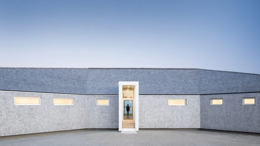 Omar Gandhi creates low-lying home along rugged Nova Scotia coastline