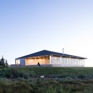 Omar Gandhi creates low-lying home along rugged Nova Scotia coastline