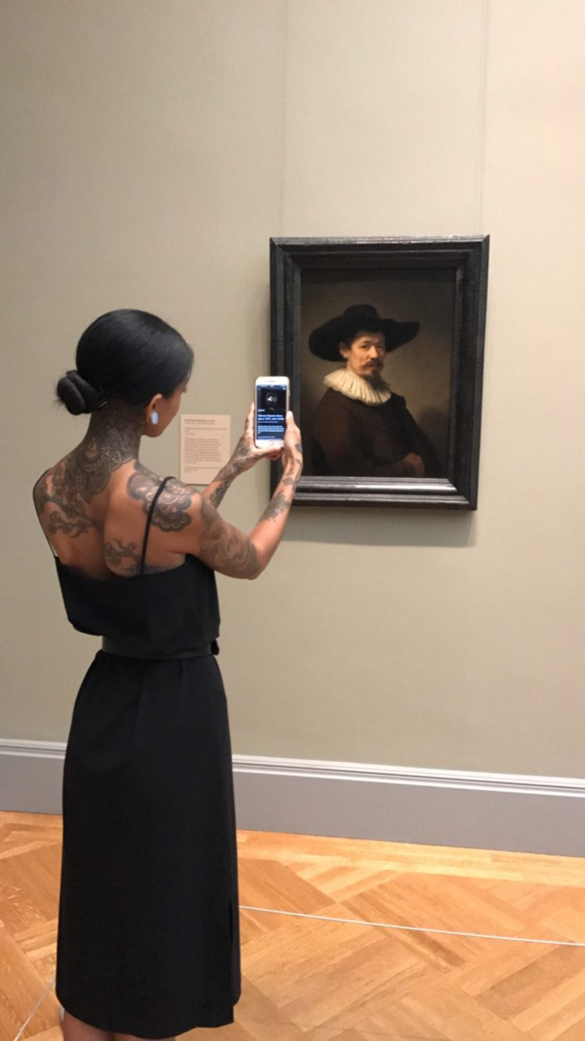 New app Smartify is hailed as the Shazam of the art world.