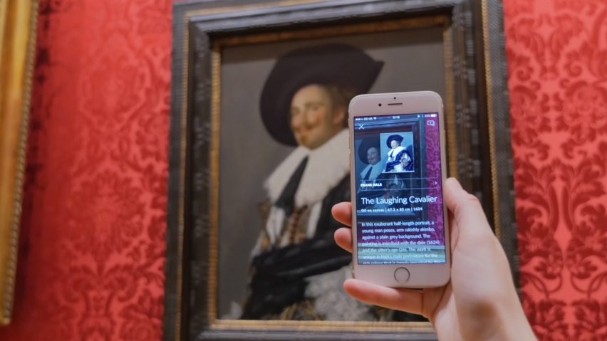 Smartify app scans artwork to identify them.